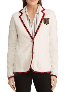 Lauren Ralph Lauren Collegiate Knit Blazer