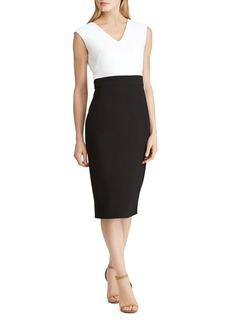 Lauren Ralph Lauren Color-Block Dress