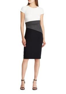 Lauren Ralph Lauren Colorblock T-Shirt Dress