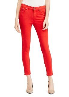Lauren Ralph Lauren Colored Skinny Crop Stretch Jeans