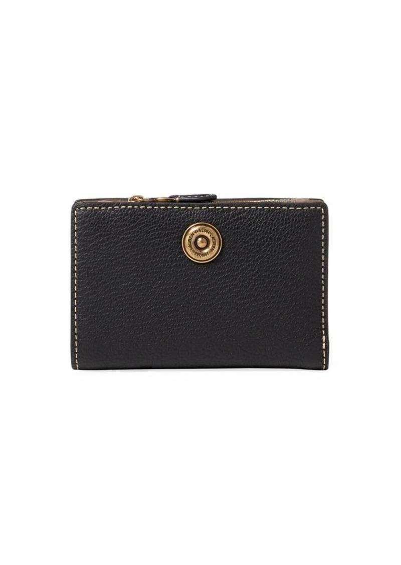 aec16edc4d08 Ralph Lauren Lauren Ralph Lauren Compact Pebbled Leather Wallet ...