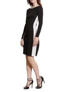 Lauren Ralph Lauren Contrast Paneled Dress