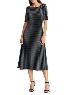 Lauren Ralph Lauren Cotton A-Line Dress