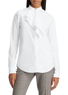 Lauren Ralph Lauren Cotton-Blend Shirt