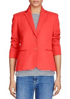 Lauren Ralph Lauren Cotton Blend Twill Jacket