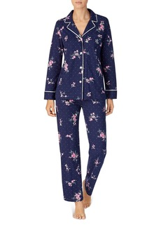 Lauren Ralph Lauren Cotton Jersey Knit Pajama Set