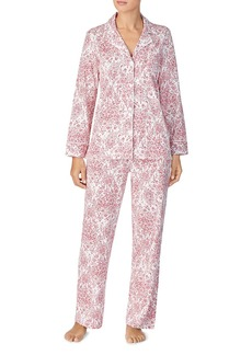 Lauren Ralph Lauren Cotton Knit Pajama Set