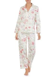 Lauren Ralph Lauren Cotton Long PJ Set