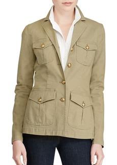 Lauren Ralph Lauren Cotton Military Jacket