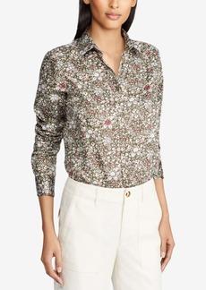 Lauren Ralph Lauren Cotton Sateen Shirt