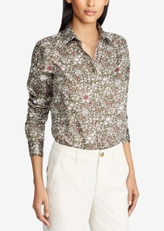 Lauren Ralph Lauren Cotton Sateen Shirt