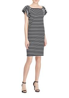 Lauren Ralph Lauren Cotton Shift Dress