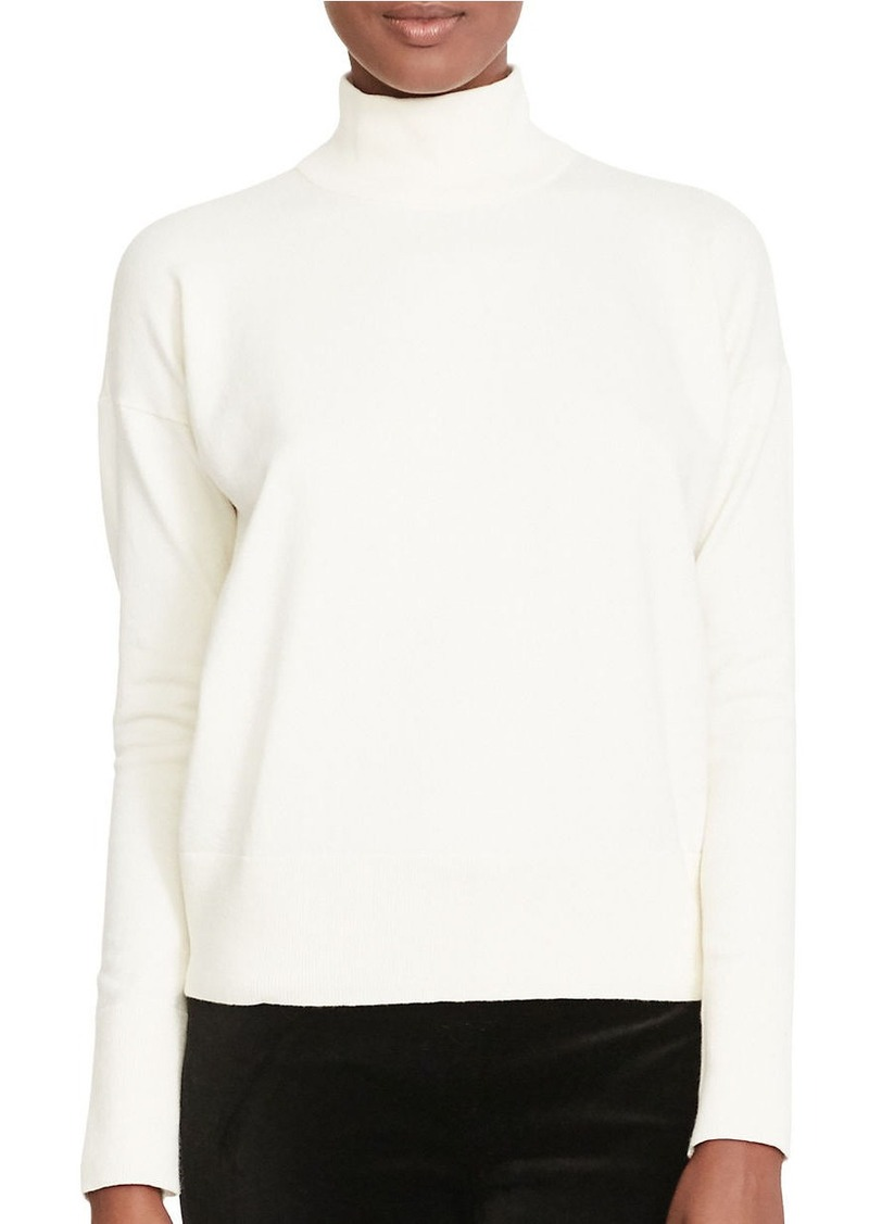 Ralph Lauren LAUREN RALPH LAUREN Cotton Turtleneck Sweater ...