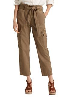 Lauren Ralph Lauren Cotton Twill Cargo Pants