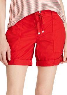 Lauren Ralph Lauren Cotton Twill Drawstring Shorts