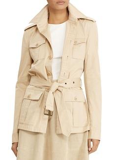 Lauren Ralph Lauren Cotton Twill Field Jacket