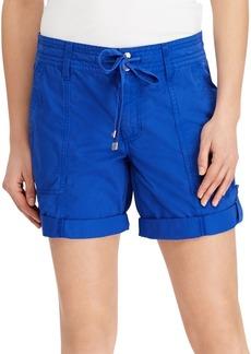 Lauren Ralph Lauren Cotton Twill Shorts