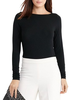 Lauren Ralph Lauren Cowl Back Top