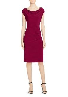 Lauren Ralph Lauren Cowl Neck Dress