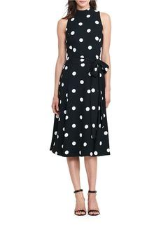 LAUREN RALPH LAUREN Crepe Midi Dress