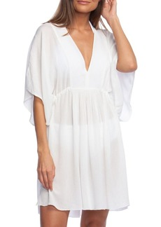 Lauren Ralph Lauren Crinkle Cover-Up Tunic