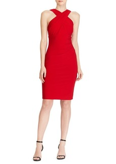 Lauren Ralph Lauren Crisscross Jersey Dress