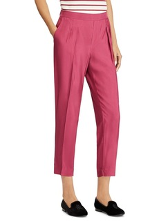 Lauren Ralph Lauren Cropped Twill Pants