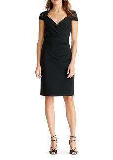 Lauren Ralph Lauren Crossover Dress