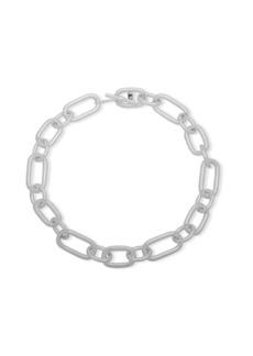 Lauren Ralph Lauren Crystal Chainlink Collar Necklace