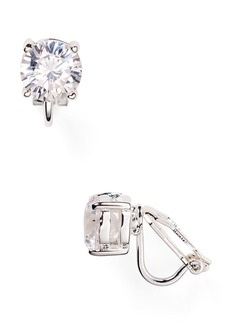 Lauren Ralph Lauren Cubic Zirconia Clip On Earrings, 10mm