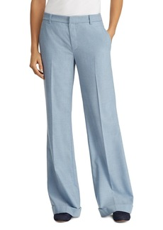 Lauren Ralph Lauren Cuffed Wide-Leg Pants - 100% Exclusive
