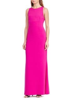 Lauren Ralph Lauren Cutout-Back Gown