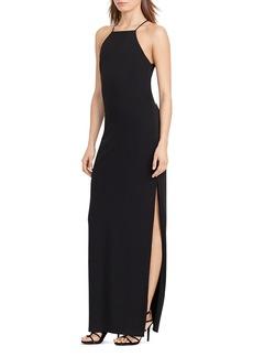 Lauren Ralph Lauren Cutout Column Gown