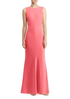Lauren Ralph Lauren Cutout Gown