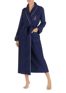 Lauren Ralph Lauren Dalton Long Fleece Robe