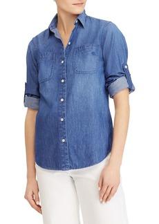 Lauren Ralph Lauren Denim Button-Down Shirt