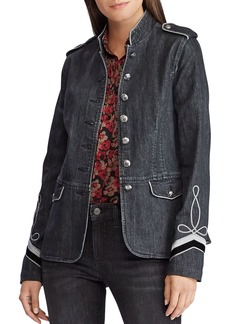 Lauren Ralph Lauren Denim Military Jacket
