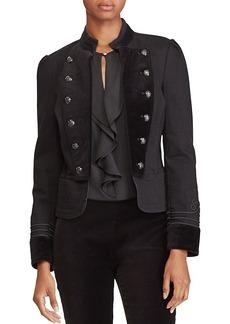 Lauren Ralph Lauren Denim Military Jacket