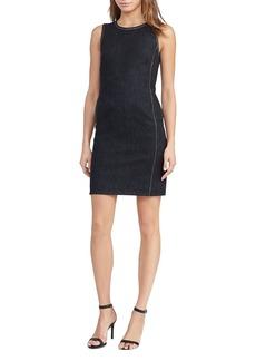 Lauren Ralph Lauren Denim Sheath Dress