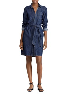 Lauren Ralph Lauren Denim Shirt Dress