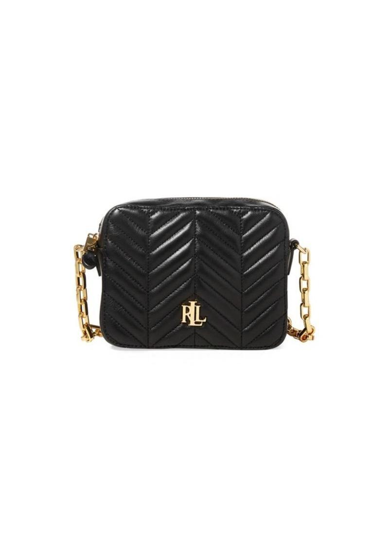 80499cb783 Ralph Lauren Lauren Ralph Lauren Quilted Leather Crossbody Bag ...