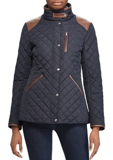 Lauren Ralph Lauren Diamond-Quilted Coat