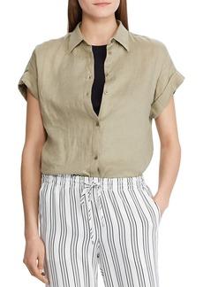 Lauren Ralph Lauren Dolman-Sleeve Button-Down Shirt