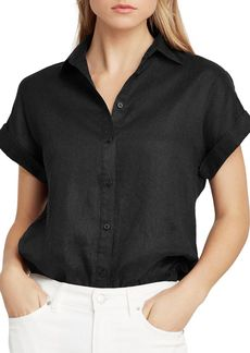 Lauren Ralph Lauren Dolman-Sleeve Button-Down Shirt