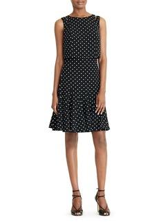 Lauren Ralph Lauren Dot-Print Dress