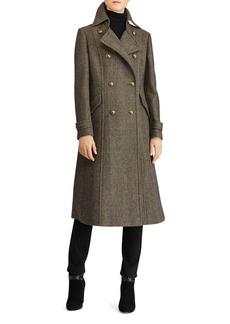 Lauren Ralph Lauren Double-Breasted Coat