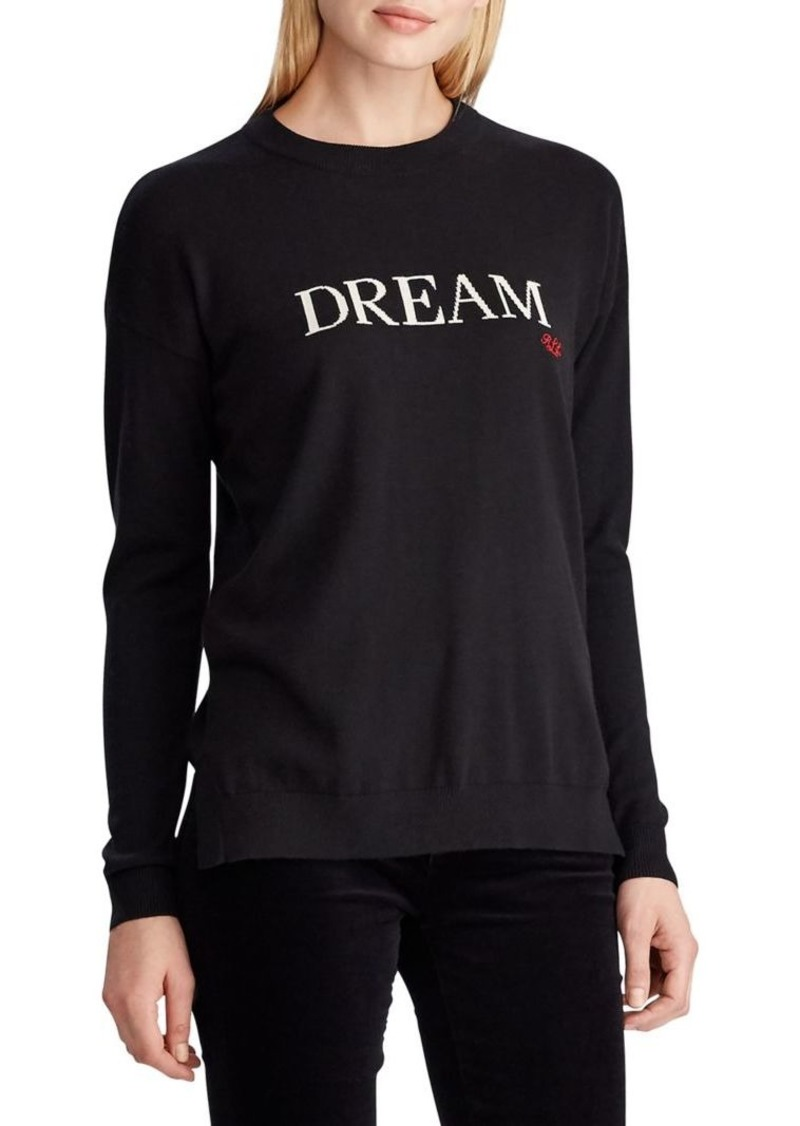 Lauren Ralph Lauren Dream Cotton-Blend Sweater