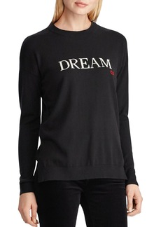 Lauren Ralph Lauren Dream Logo Sweater