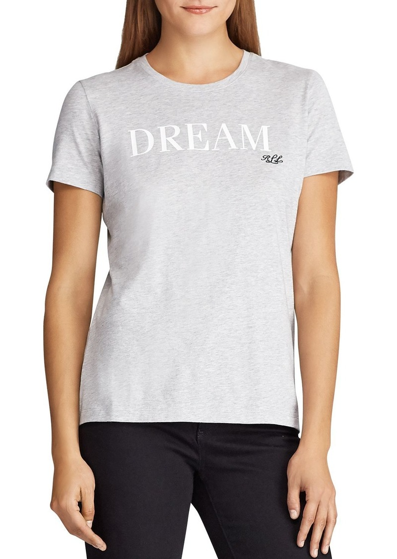 Lauren Ralph Lauren Dream Signature Tee