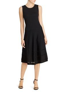 Lauren Ralph Lauren Drop-Needle Stitch Dress